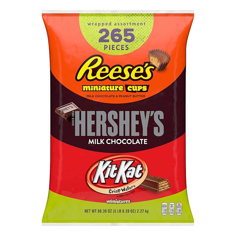 Get five pounds of Reese's, Hershey's, and Kit-Kats in one bag! (Photo: Amazon)