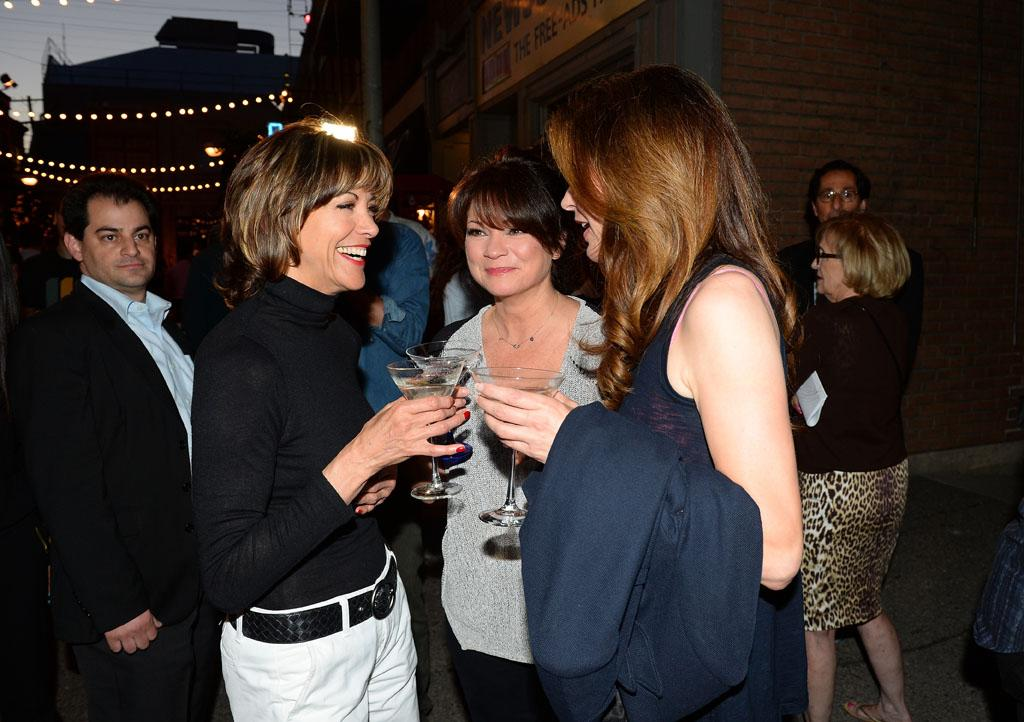 "Wendie Malick, Valerie Bertinelli and Jane Leeves attend the after party for TV Land's ""Hot in Cleveland"" Live Show on June 19, 2013 in Studio City, California."