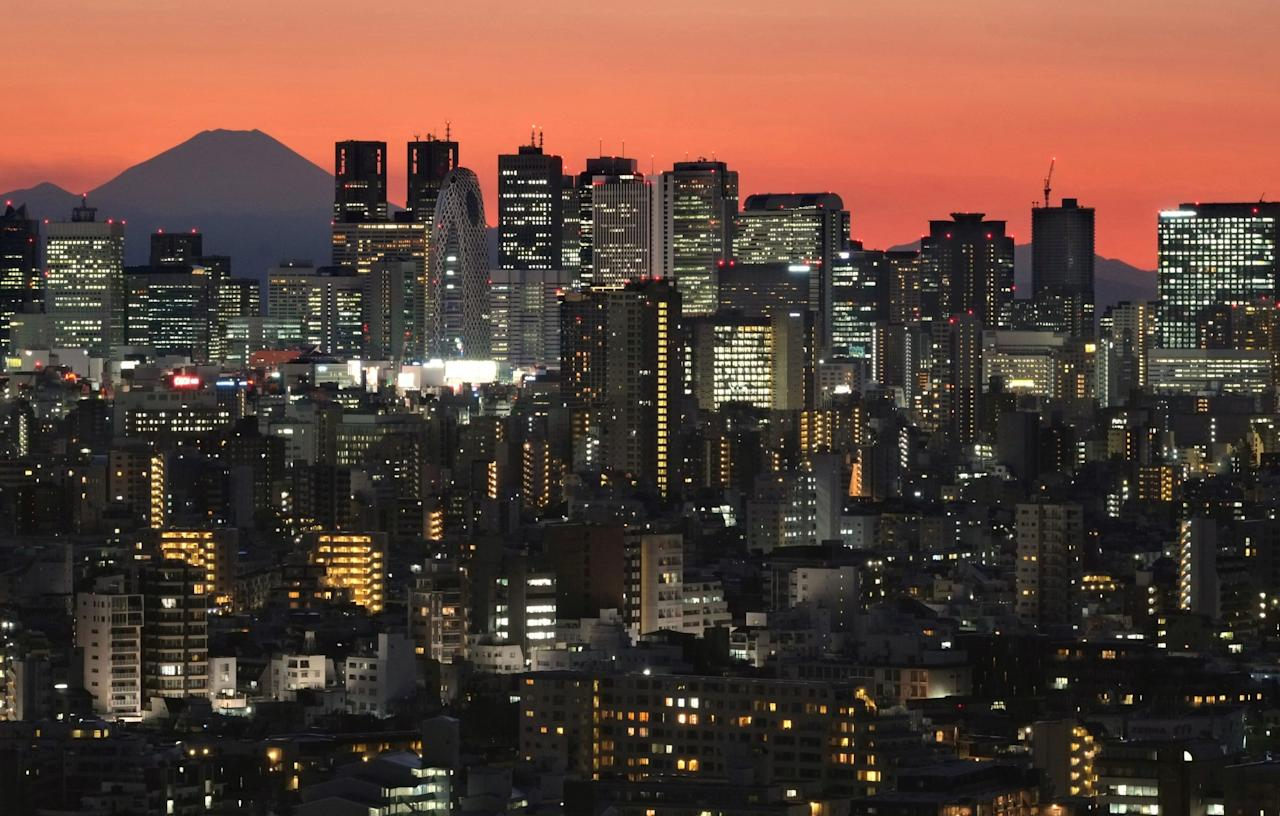<p>In second place, Tokyo at US$4,900 Per sq ft. (Photo: AFP) </p>