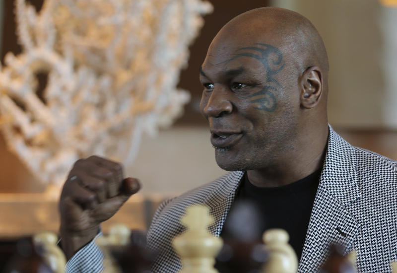 Mike Tyson exhibition fight against Roy Jones Jr rescheduled for November