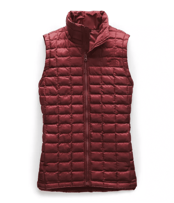 """<p>Keep your core extra warm and layer the <a href=""""https://www.popsugar.com/buy/North-Face-Thermoball-Eco-Vest-535711?p_name=North%20Face%20Thermoball%20Eco%20Vest&retailer=thenorthface.com&pid=535711&price=149&evar1=fit%3Aus&evar9=47052611&evar98=https%3A%2F%2Fwww.popsugar.com%2Ffitness%2Fphoto-gallery%2F47052611%2Fimage%2F47052622%2FNorth-Face-Thermoball-Eco-Vest&list1=running%2Chalf%20marathon&prop13=api&pdata=1"""" rel=""""nofollow"""" data-shoppable-link=""""1"""" target=""""_blank"""" class=""""ga-track"""" data-ga-category=""""Related"""" data-ga-label=""""https://www.thenorthface.com/shop/womens-activities-running/womens-thermoball-eco-vest-nf0a3y3r?variationId=HA9#hero=0"""" data-ga-action=""""In-Line Links"""">North Face Thermoball Eco Vest</a> ($149) over your thick hoodie. The slim-fitting lightweight vest is available in eight different colors, and it's toasty insulation is crafted from 100 percent post-consumer recycled polyester.</p>"""