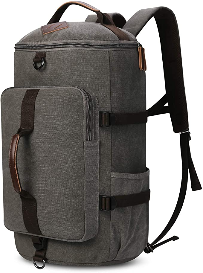 """<h3><strong>Amazon Nylon Duffel-Backpack</strong></h3><br>If you plan on packing presents, work materials, two pairs of boots, a few extra layering bits, that sweater your sister loaned you last year...THIS is the hold-everything convertible pack for you.<br><br><em>Shop </em><strong><em><a href=""""https://amzn.to/2sEgHJu"""" rel=""""nofollow noopener"""" target=""""_blank"""" data-ylk=""""slk:Yousu"""" class=""""link rapid-noclick-resp"""">Yousu</a></em></strong><br><br><strong>Yousu</strong> Nylon Duffle Backpack, $, available at <a href=""""https://amzn.to/3k62xXs"""" rel=""""nofollow noopener"""" target=""""_blank"""" data-ylk=""""slk:Amazon"""" class=""""link rapid-noclick-resp"""">Amazon</a>"""