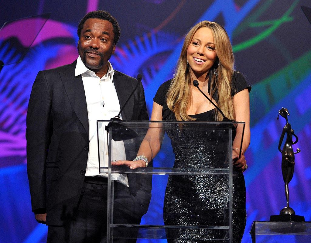 "Meanwhile at the Palm Springs International Film Festival, Mariah Carey delivered a bizarre acceptance speech upon being named Breakthrough Actress for her role in Lee Daniels' ""Precious."" The diva later blamed her incoherent rant on an overindulgence in champagne. John Shearer/<a href=""http://www.gettyimages.com/"" target=""new"">GettyImages.com</a> - January 5, 2010"