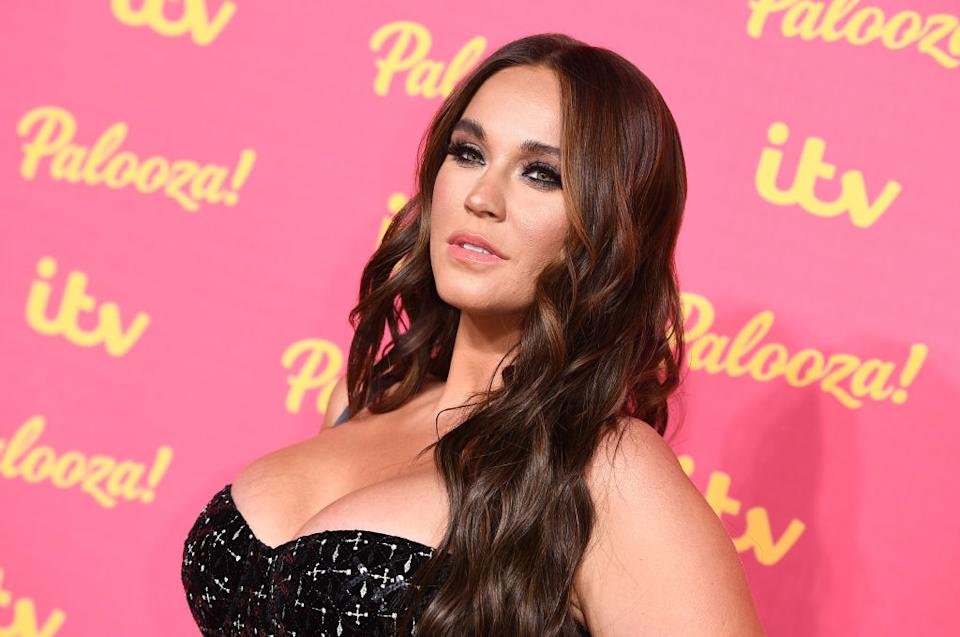 Vicky Pattison has shared an inspiring post about body image, pictured in November 2019. (Getty Images)