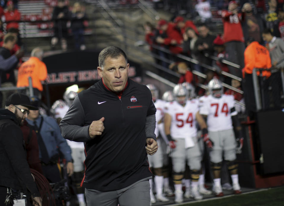 Greg Schiano signed a memorandum of understanding to be the head coach at Tennessee, but the deal fell apart. (AP)