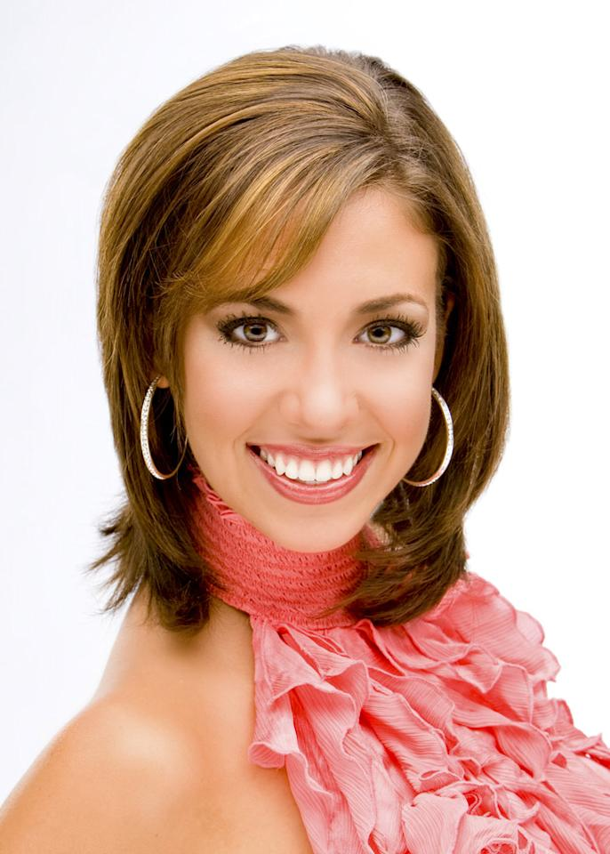 """Miss Kentucky, Emily Cox, is a contestant in the <a href=""""/miss-america-countdown-to-the-crown/show/44013"""">Miss America 2009 Pageant</a>."""