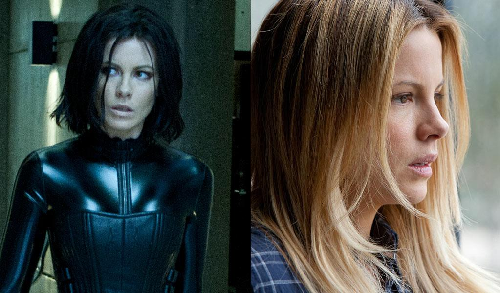 """Kate Beckinsale returns as tough-as-nails vampire warrior Selene. In addition to going up against Lycans, Beckinsale will compete against herself this weekend, as """"Contraband,"""" her other movie that's out right now, should continue to command audience share. <br><br>Prior to filming """"Underworld Awakening,"""" Beckinsale went on location in New Orleans to shoot """"Contraband."""" New Orleans, which has a well-deserved reputation as a foodie town, isn't exactly beneficial for people who need to fit into skintight leather suits. """"It's got the worst kind of 'Underworld' suit food, really,"""" Beckinsale tells <a href=""""http://www.ontheredcarpet.com/Kate-Beckinsale:-Contraband-made-putting-on-Underworld-catsuit-hard/8505392"""">ontheredcarpet.com</a>. Spoiler alert: She managed to put aside the beignets, and she fit into her catsuit just fine."""