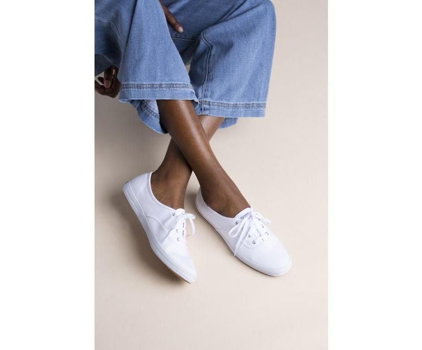 <p>The <span>Keds Champion Originals</span> ($50) will easily become the most-worn shoes in your closet. They'll work with wide-leg pants, midi skirts, and minidresses alike. </p>
