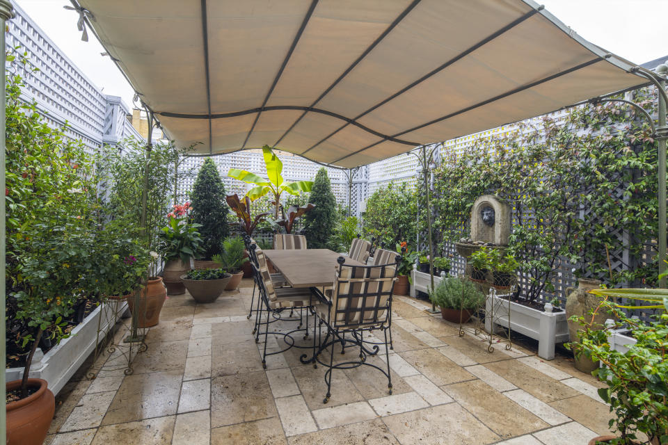 Terrace. Photo: Beauchamp Estates
