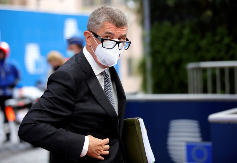 Czech PM Babis' party wins wide support in regional elections