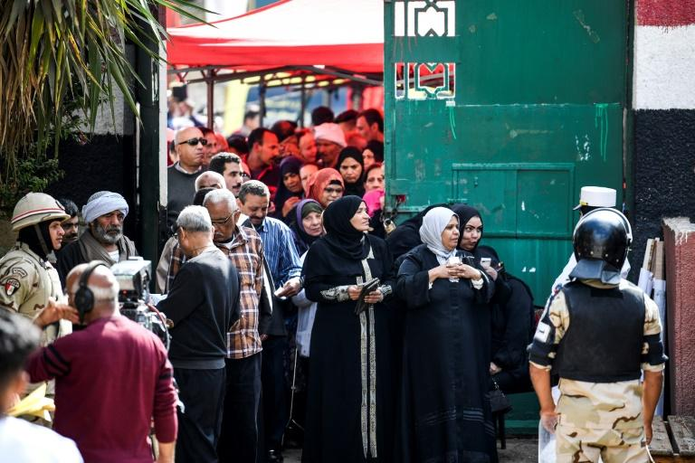 Despite protests from rights groups, the three-day plebiscite is expected to approve sweeping constitutional changes that will extend Sisi's term until at least 2024