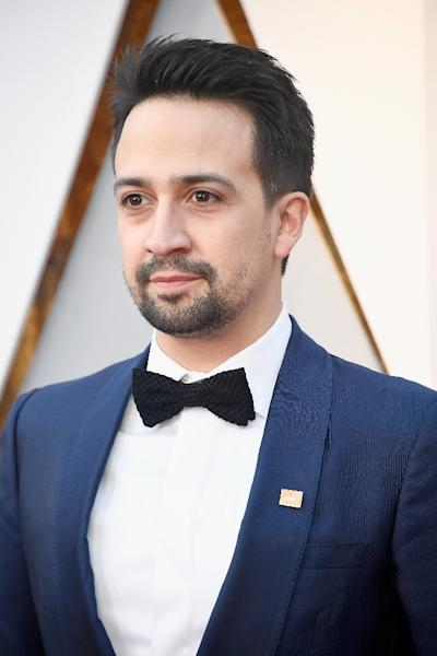Lin-Manuel Miranda created a show that features pulsating rap numbers as well as ballads and traditional musical numbers (AFP Photo/Frazer Harrison)