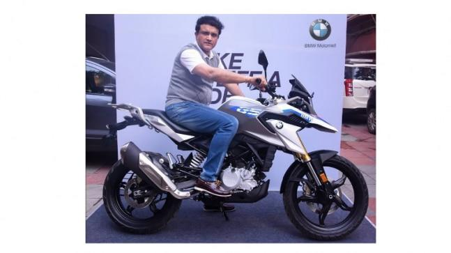 Dada -- as Sourav Ganguly is fondly called -- is no stranger to bikes and he once featured in a Hero Honda commercial alongside actor Hrithik Roshan.