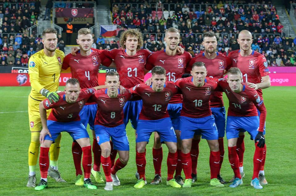 Czech Republic are ranked 40th in the world  (AFP via Getty Images)