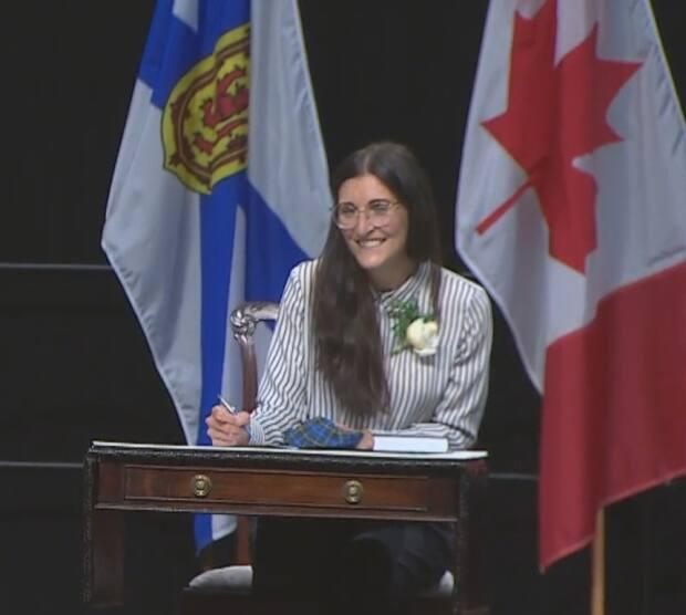 Jill Balser is Nova Scotia's minister of labour, skills and immigration. (CBC - image credit)