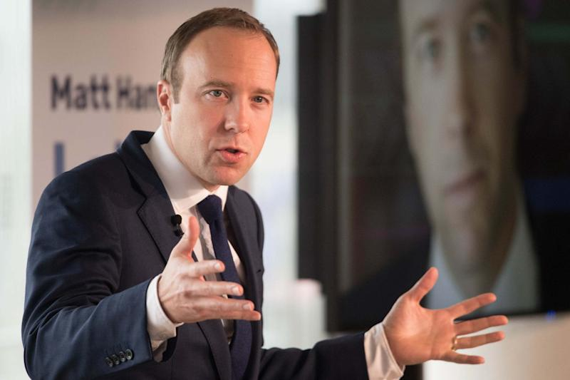 Matt Hancock at the launch of his campaign to become leader of the Conservative Party (PA)
