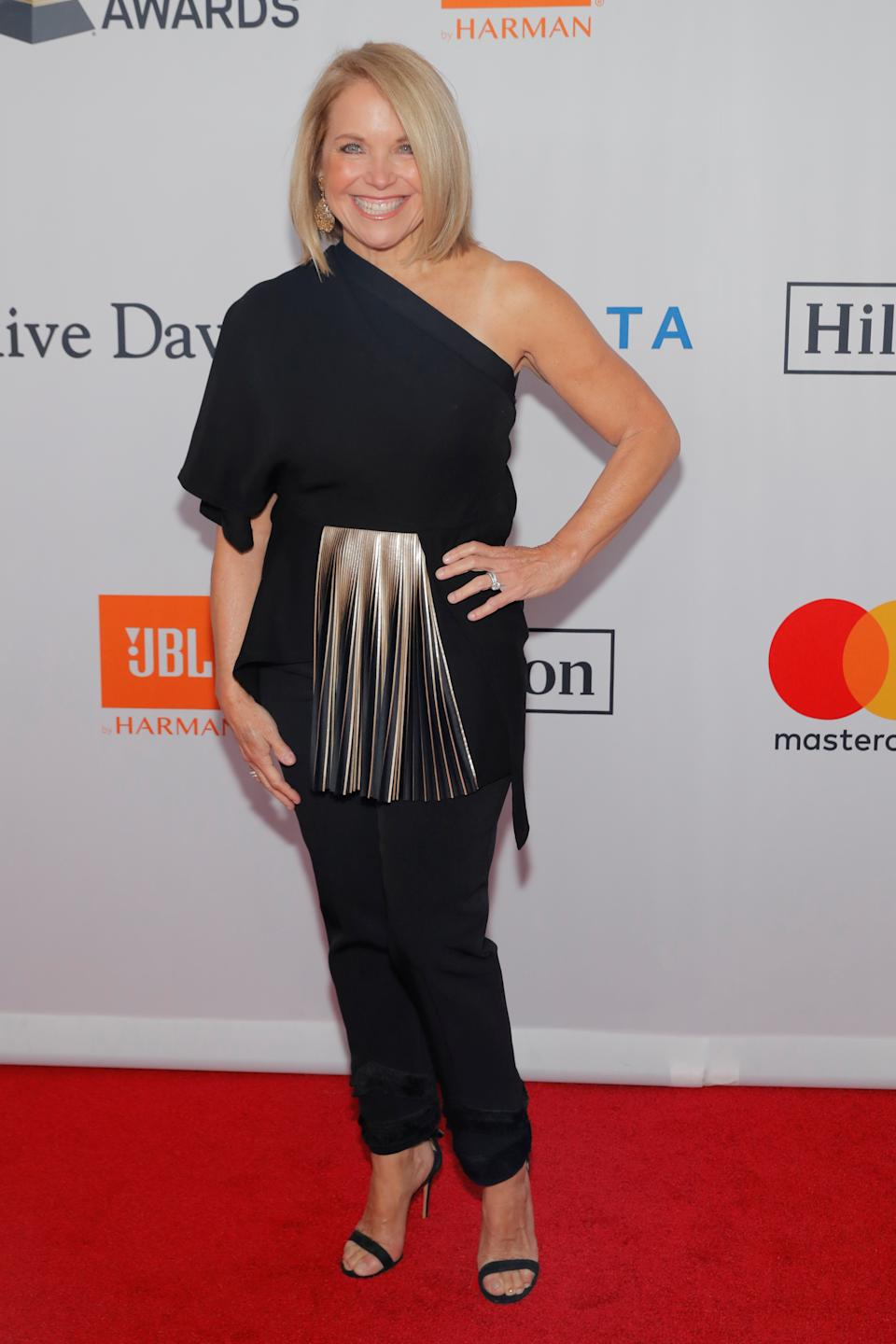 Katie Couric recalls growing up in a household that was constantly talking about diets. (Getty Images)