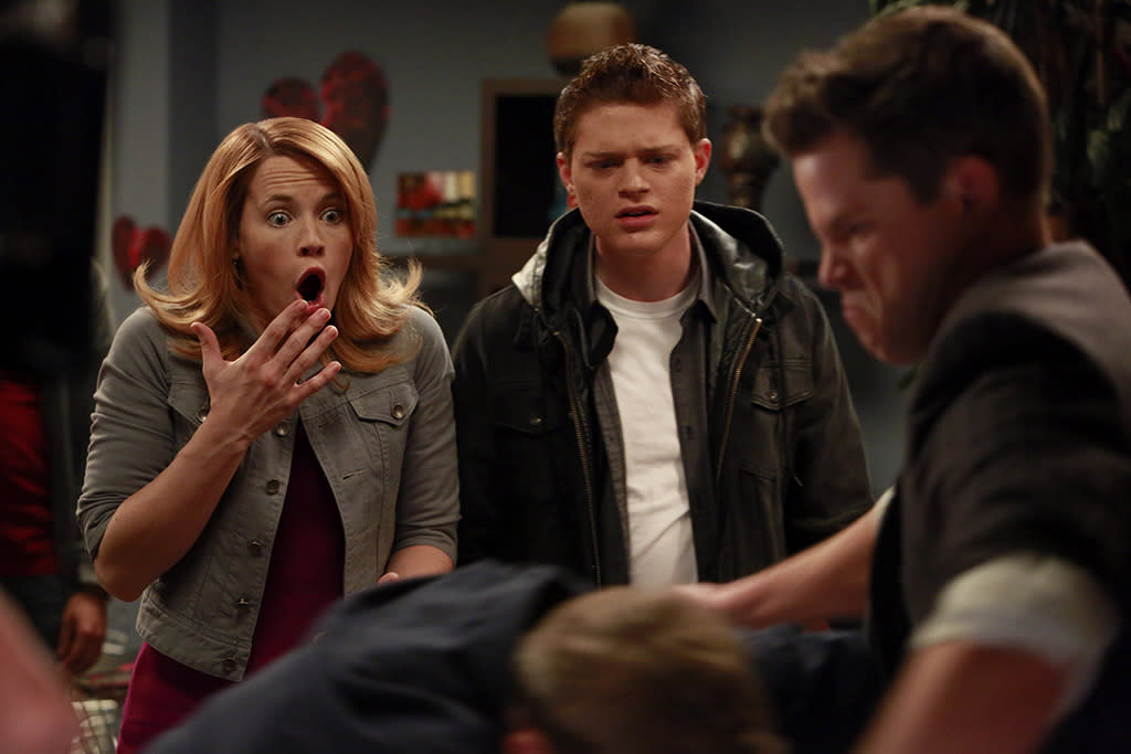 """""""Human/Need/Desire"""" - Things go awry on Valentine's Day when Bay throws a """"singles only"""" Valentine's Day party at Angelo's place on an all new episode of """"Switched at Birth,"""" airing Monday, February 11 at 8:00PM ET/PT on ABC Family."""