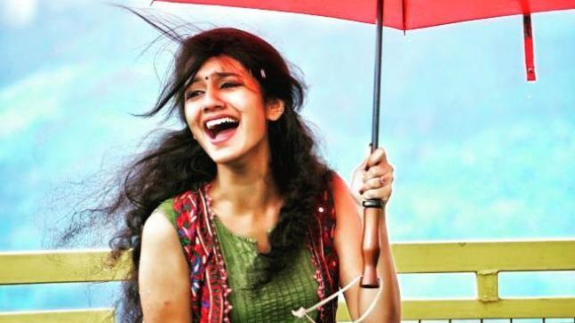 Priya Prakash Varrier is overwhelmed with the unprecedented recognition she is receiving for her expressions in Manikya Malaraya Poovi.
