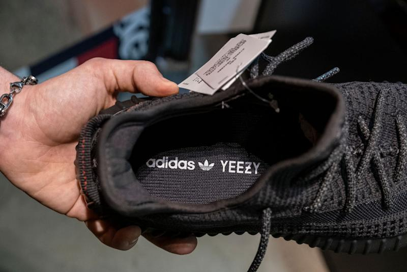 Pictured: Adidas Yeezy shoes. Image: Getty