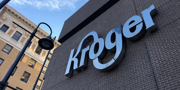 The Kroger supermarket chain's headquarters in Cincinnati, US.