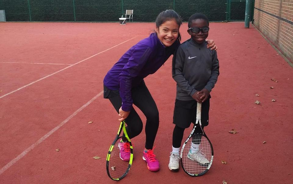 Emma Raducanu's childhood tennis club, The Parklangley Club in Beckenham where she trains. US Open Women's champion Raducanu was trained by Harry Bushnell between the ages of 6 and 10 at the club. - JAMIE LORRIMAN