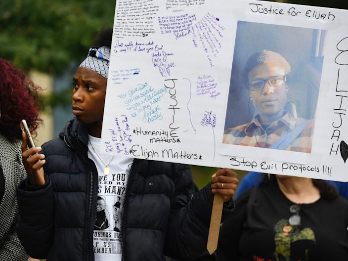 """The death of Elijah McClain, who told cops he was """"different"""" made Tracey realize her son could just as easily get pulled over."""