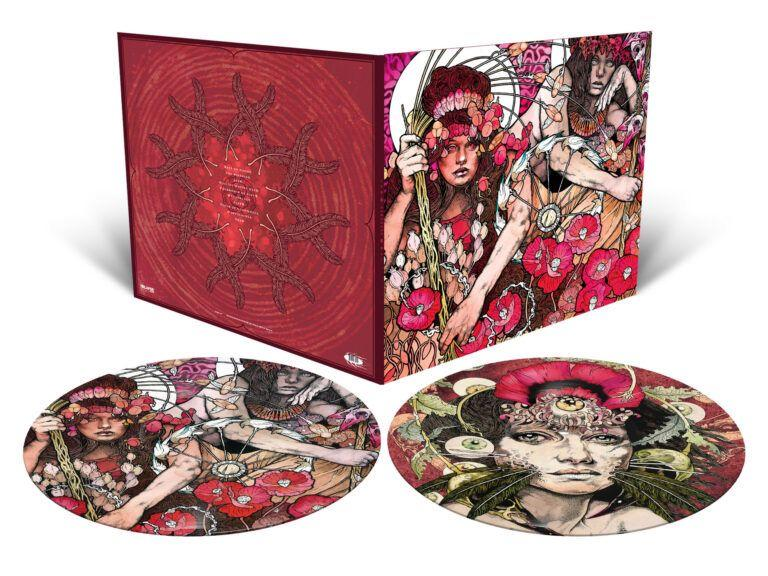 red uncropped 1 768x576 1 Baroness Announce Stunning Picture Disc Vinyl Editions of Red, Blue, and Yellow & Green