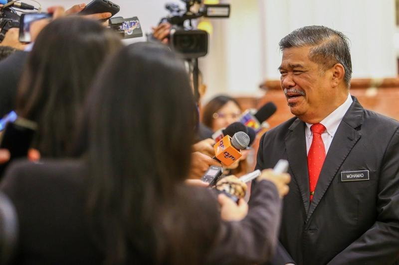 Defence Minister Mohamad Sabu said today Malaysia is looking at a collaboration with Turkey to develop its defence industry. — Picture by Hari Anggara