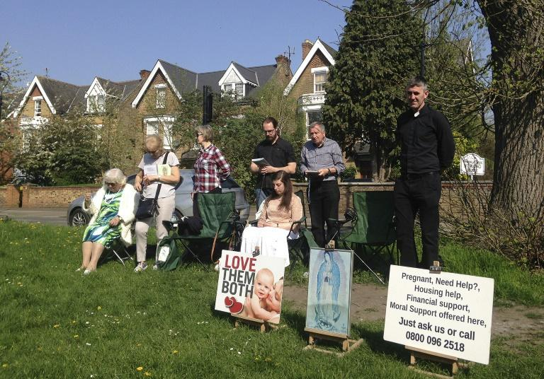Vigils have been held outside the clinic for 23 years