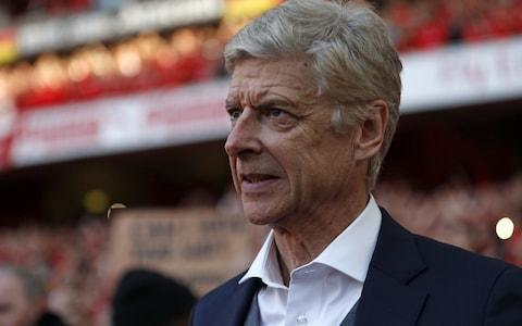 """Arsene Wenger spoke for world football on Sunday when he delivered a heartfelt message of good wishes and support to Sir Alex Ferguson following news that his friend and great rival is seriously ill in intensive care following a brain haemorrhage. Ferguson underwent emergency surgery on Saturday and, in beginning his farewell speech as Arsenal manager on the pitch at The Emirates Stadium yesterday, Wenger received rapturous applause for his words about the former Manchester United manager. """"I just want to say: 'we care',"""" he said. """"I would like to wish my fellow manager, Alex Ferguson, well very quickly."""" Ferguson had written a message in the Arsenal matchday programme in which he paid tribute to Wenger's career and described their rivalry as having """"made the Premier League"""". Wenger had personally spent time with Ferguson last week when he was presented with a vase on the Old Trafford pitch before Arsenal's 2-1 defeat and they then reminisced in the United directors' box after the game. """"He looked in a perfect shape - he told me he is doing a lot of exercise and he looked very happy,"""" said Wenger. """"That kind of accident can happen. He is a strong and optimistic man."""" Wenger's first words of his farewell speech were in support of his seriously ill former rival Ferguson Credit: AFP Ferguson famously referred to Manchester City as """"noisy neighbours"""" during the latter years of his United tenure and the City fans also joined Wenger in wishing the 76-year-old a full recovery. Two City fans, who were part of a post-match pitch invasion following their Premier League title winning season, held up a banner bearing the words: 'Football aside, get well Fergie'. City manager Pep Guardiola then brought his entire back-room staff into the post-match press conference. His assistant Brian Kidd was a member of United's 1968 European Cup-winning team and also Ferguson's assistant at Manchester United for seven years. """"All the love in the world to him,"""" said Kidd. """"He's such an iconic"""