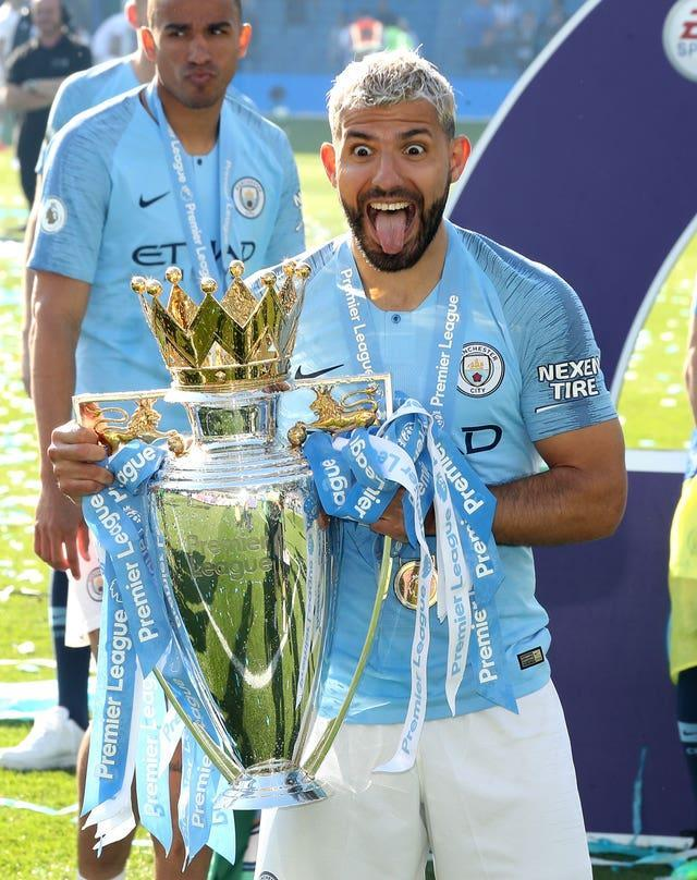 The Argentinian has regularly won trophies with City