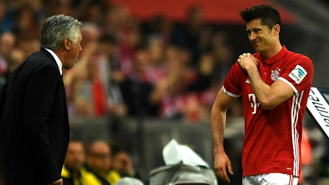 The representative of Bayern Munich striker Robert Lewandowski has accused Borussia Dortmund of trying to injure the striker.