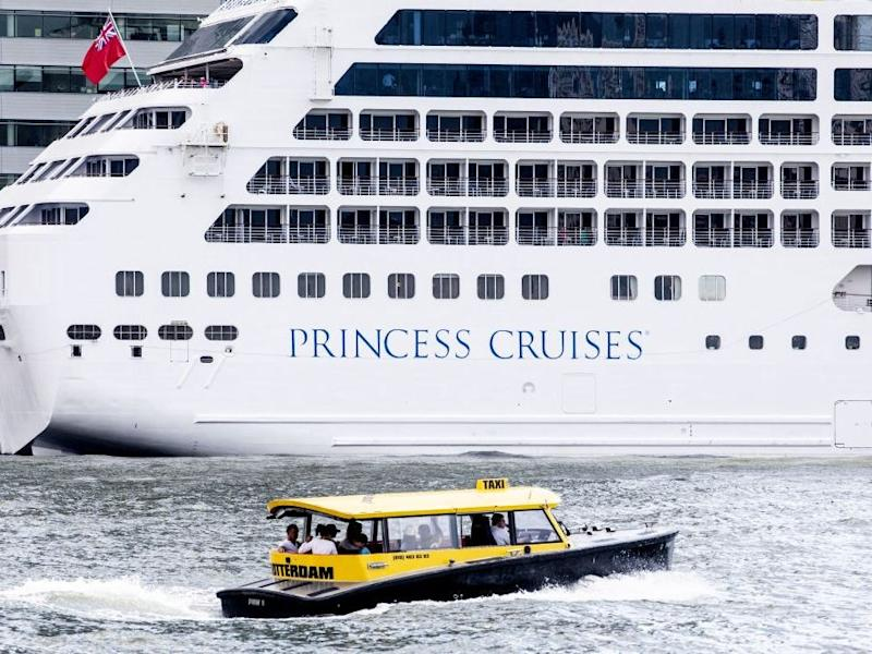Pacific Princess in 2019