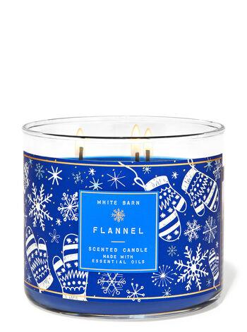 White Barn Flannel candle is the perfect soft musk fragrance for winter.