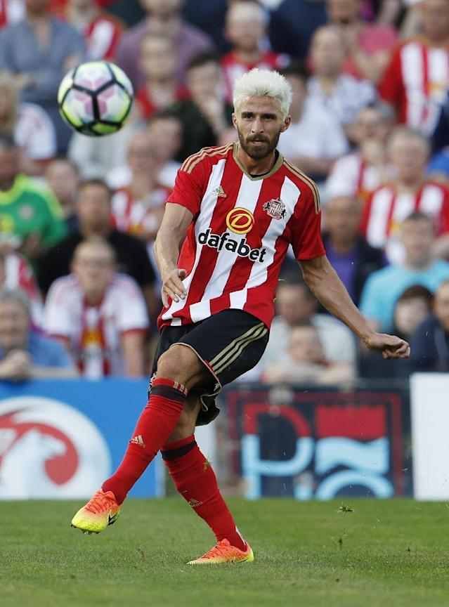 Britain Football Soccer - Hartlepool United v Sunderland - Pre Season Friendly - Victoria Park - 20/7/16 Sunderland's Fabio Borini Action Images via Reuters / Lee Smith Livepic