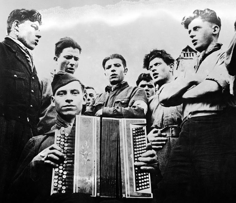 """For years the authorities were content to quietly perpetuate the myth that the """"Song of the Partisans"""" had sprung from the brave hearts of Resistance fighters"""