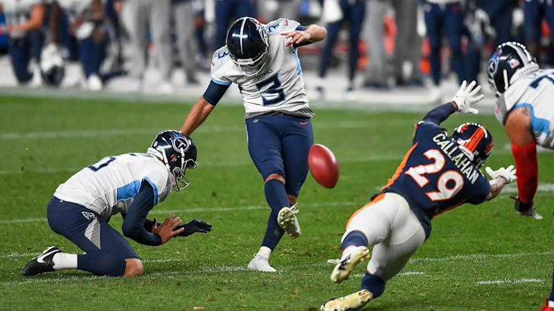 Titans' search for a reliable kicker might not be over after Stephen Gostkowski's debut