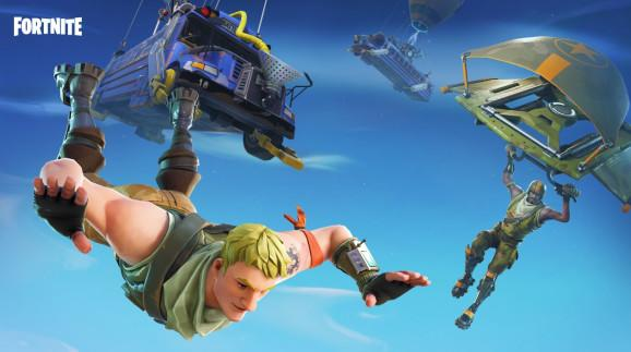 Look out below. Here comes Fortnite on Android.