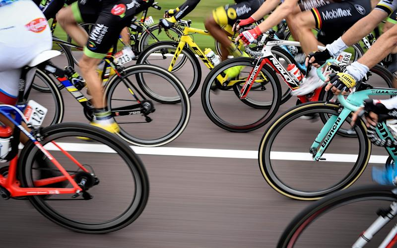 Campaigners accused Stanley Park High in Carshalton, south London, of putting children off cycling - AFP or licensors