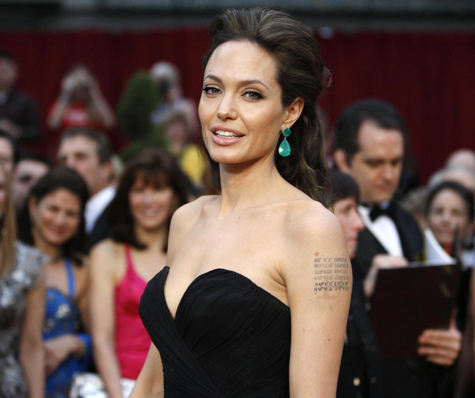 Angelina Jolie, best actress nominee for