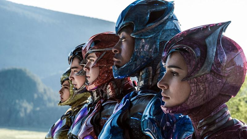 The all-new 2017 'Power Rangers' (credit: Lionsgate)