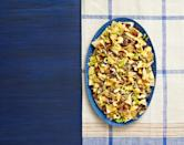 """<p>You can't go wrong with these nachos that are inspired by the classic Philly cheesesteak. It'll be a fun recipe to make for your family.</p><p><strong><a href=""""https://www.thepioneerwoman.com/food-cooking/recipes/a34224728/cheesesteak-nachos-with-chipotle-beans/"""" rel=""""nofollow noopener"""" target=""""_blank"""" data-ylk=""""slk:Get the recipe."""" class=""""link rapid-noclick-resp"""">Get the recipe.</a></strong></p><p><strong><a class=""""link rapid-noclick-resp"""" href=""""https://go.redirectingat.com?id=74968X1596630&url=https%3A%2F%2Fwww.walmart.com%2Fbrowse%2Fhome%2Fthe-pioneer-woman-plates%2F4044_623679_639999_2113437_9360029&sref=https%3A%2F%2Fwww.thepioneerwoman.com%2Ffood-cooking%2Fmeals-menus%2Fg35049189%2Fsuper-bowl-food-recipes%2F"""" rel=""""nofollow noopener"""" target=""""_blank"""" data-ylk=""""slk:SHOP PLATES"""">SHOP PLATES</a><br></strong></p>"""