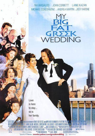 "<p>A Greek woman (Nia Vardalos) falls in love with a non-Greek man (John Corbett). If you think that's no big deal, hit play. Romance is a family affair in this movie that shows in-laws — especially those with a strong connection to their culture — can pose a hilarious challenge. </p><p><a class=""link rapid-noclick-resp"" href=""https://www.amazon.com/My-Big-Fat-Greek-Wedding/dp/B00A6N7FFO/ref=sr_1_1?s=instant-video&ie=UTF8&qid=1544049529&sr=1-1&keywords=my+big+fat+greet+wedding&tag=syn-yahoo-20&ascsubtag=%5Bartid%7C10055.g.3243%5Bsrc%7Cyahoo-us"" rel=""nofollow noopener"" target=""_blank"" data-ylk=""slk:STREAM NOW"">STREAM NOW</a></p>"