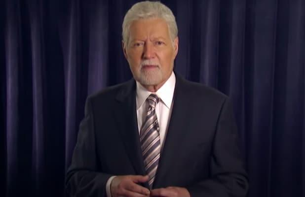 Alex Trebek and His New Goatee Give Fans a Health Update: 'My Numbers Are Good, I'm Feeling Great' (Video)
