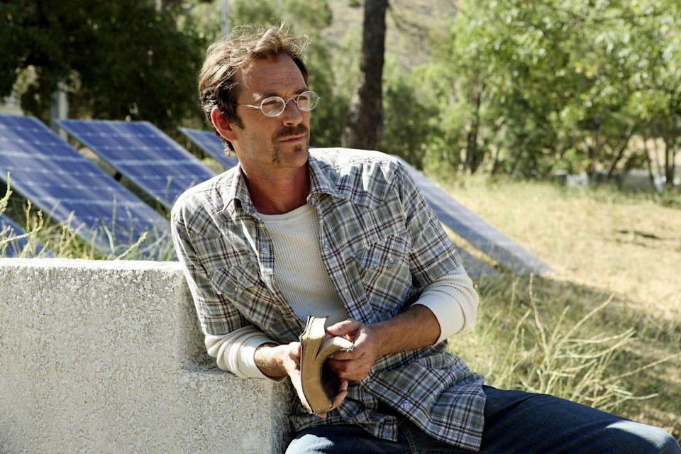 <p>Consider Benjamin Cyrus—played by the late, great Luke Perry—your regular reminder that joining a cult usually doesn't work out for the best, even when the leader of the cult is, well, Luke Perry. Benjamin's repeated instances of statutory rape and marriage to a teenage girl are what land him on the BAU's radar, and their interactions don't end well. <br></p>