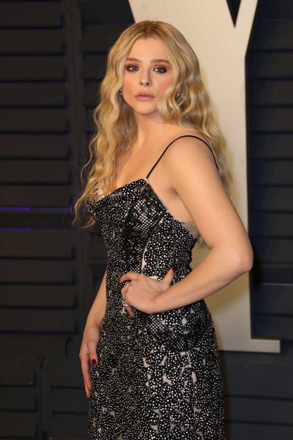 <p>Chloe started acting when she was just six, landing roles in hits like <em>The Amityville Horror </em>and <em>Desperate Housewives</em>. Since then she's starred in movies like <em>Kick-Ass</em> and <em>Neighbors 2 </em>and with a solid 16 years in the industry, it's no wonder people assume she's older.</p>