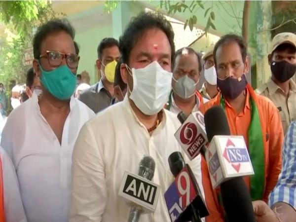 Minister of State of Home Affairs G Kishan Reddy (File Photo)