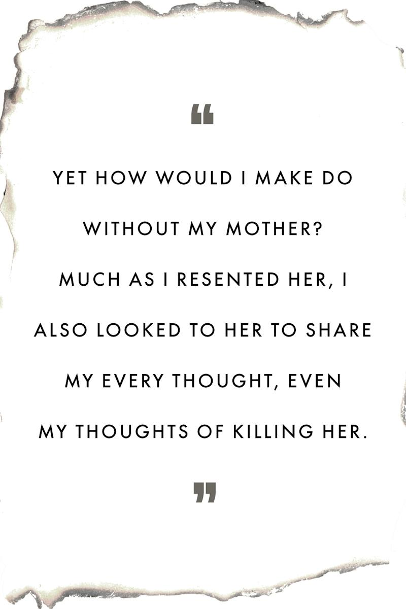 my mother was my greatest terror and my greatest love