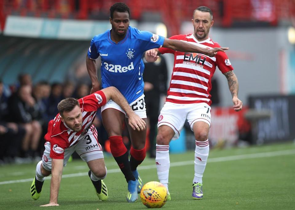 Hamilton Academical at home to Rangers